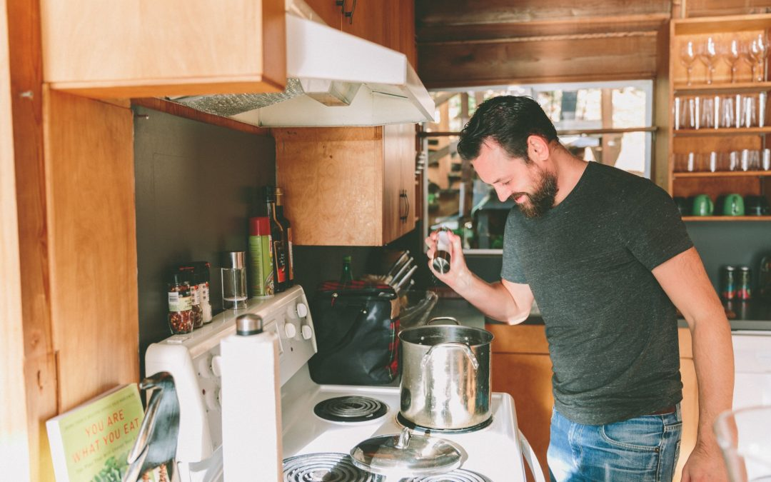 La cuisine au masculin